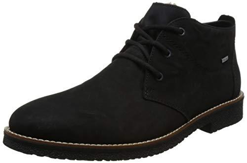 Rieker Herren 13630 Desert Boots, Schwarz (Schwarz 00), 43 EU