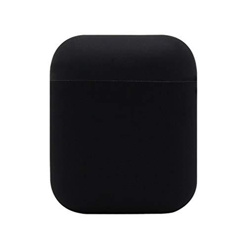 Colorful 丨Airpods Schutzhülle丨 Airpods Case 丨Airpods Hülle丨Silikonhülle Schutzhülle Abdeckung Haut für Apple AirPods Ladekoffer (Schwarz)