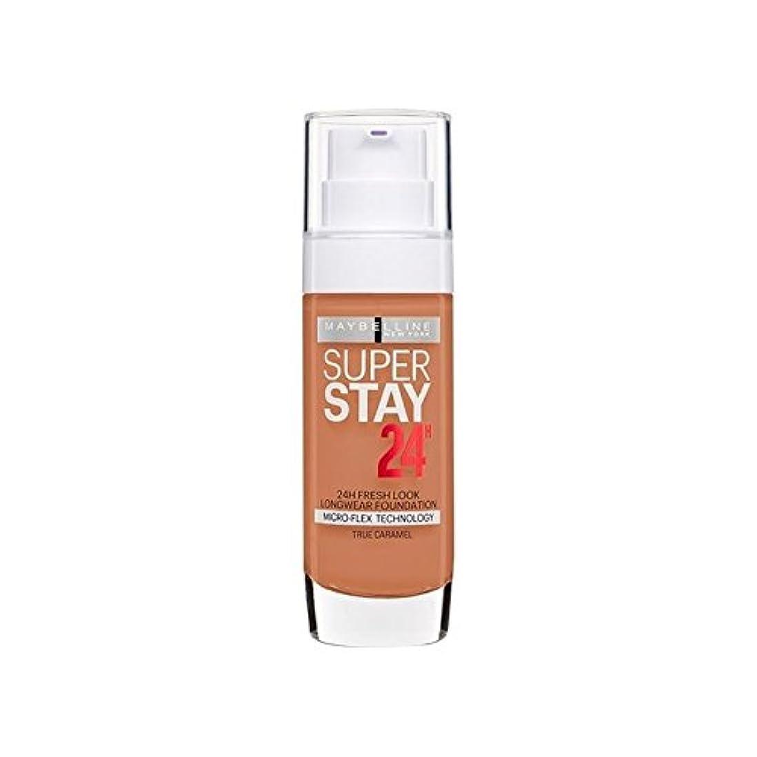 しない解釈する何もないMaybelline SuperStay 24h Liquid Foundation 58 Caramel 30ml - メイベリン 24時間リキッドファンデーション58キャラメル30ミリリットル [並行輸入品]