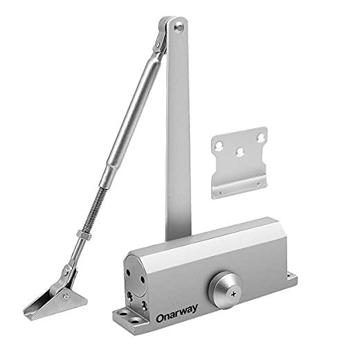 Onarway Door Closer Size 3 Adjustable Automatic Spring Hydraulic Door...