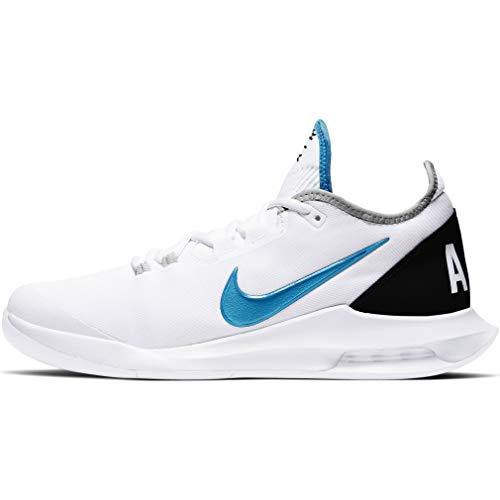 Nike Air Max Wildcard HC, Scarpa da Tennis Uomo (White/Neo Turq/Grey Fog, Numeric_43)