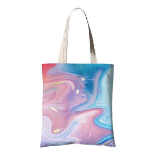 WDX Umweltschutztasche, Retro, niedlich, eine Schulter Leinen, Stoff, Umweltschutz, baumwolle, F, 30*35cm