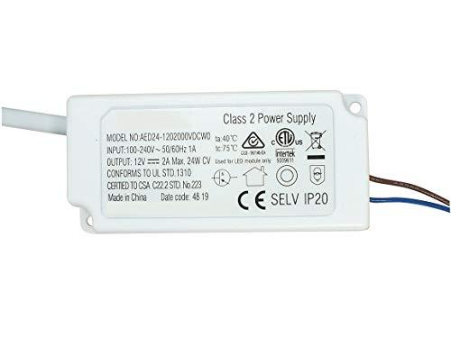 Abishion 24W LED Trafo 12VDC,LED Treiber Netzteil, Für G4, LED Streifen, MR11, MR16 LED Lampen.
