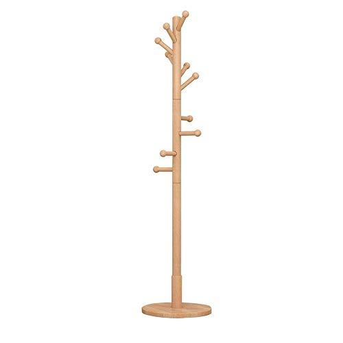 Kapstok Stand Kleding Rekken Planken Kapstok, 10 Haken, Floor Bedroom Hanger, Slaapkamer Living Room, Office 180cm (H) LQH