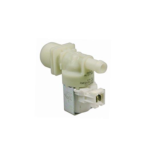 Magnetventil 1fach 180° 10,5mmØ Waschmaschine Wasch-Trocknern Original Miele 4971731