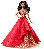 AMERICAN GREETINGS 2014 Holiday Barbie Ornament - Heirloom Collection - African American