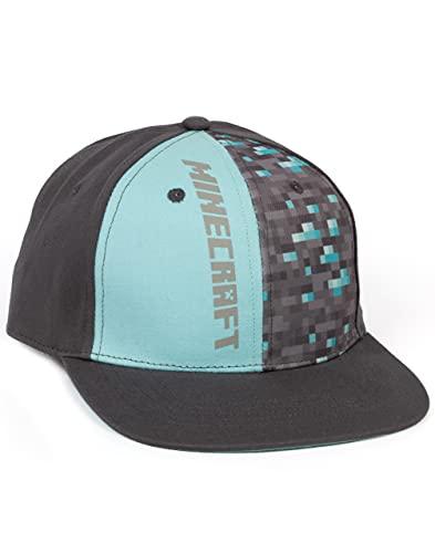 Minecraft Diamond Snapback Cap (S-M)