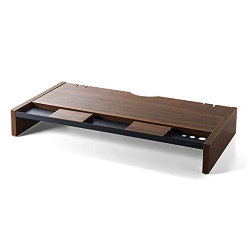 Monitorständer Erhöhen, Aus Holz Nackenschutz Computer-Riser Familie Büro Desktop Organizer Zum Bildschirm Laptop Fernsehen Handy Tastatur-A