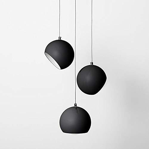 Rotondo Moderna Lampada a Sospensione E27 Creativo Semplice Metallo Sospensione Lampada Paralumi Altezza Lampada a Sospensione Regolabile per Soggiorno Camera Da Letto Sala da pranzo Cucina Lampadario