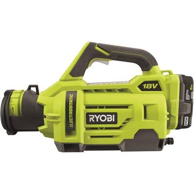 RYOBI ONE+ 18-Volt Lithium-Ion Cordless Electrostatic Sprayer with 2 2.0 Ah Battery and Charger Included