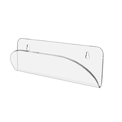 Groust Soporte de pared para monopatín, acrílico, soporte de pared para monopatín, longboard, monopatín, perchas, soporte de pared acrílico