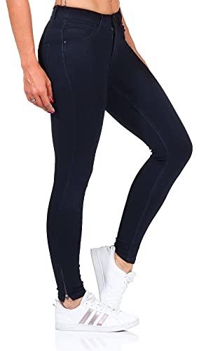 Only Onlkendell Reg SK Ank Etnal Crya011 Noos Jeans Skinny, Grigio (Dark Blue Denim), W29/L34 (Taglia Produttore: Medium) Donna