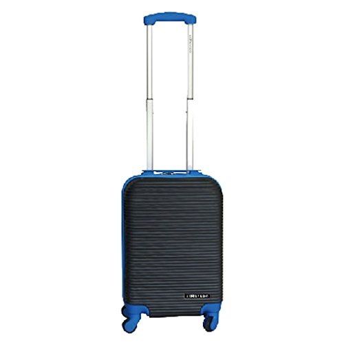 Leonardo Handbagage koffer duo-tone zwart / blauw (DSS-DS40931)