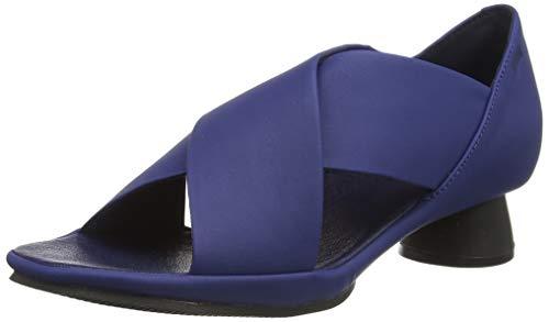 CAMPER Alright, Sandalias con tacón. Mujer, Azul, 38 EU
