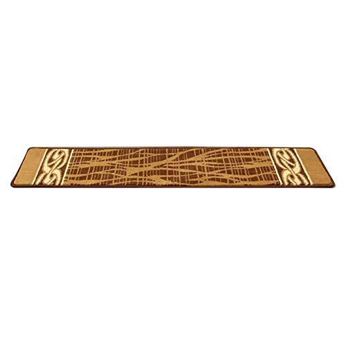 YAOJIA Tappeto per Scale Scale Tappeto Rettangolare (150x30 cm) Tappeti Grandi | Lavabili | Tappeto for Scale autoportante | Antiscivolo | scalino/Pad-Modern Fashion 5 Colori
