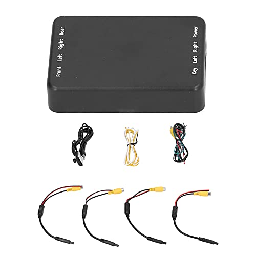Fudax Interruptor de cámara para automóvil, Control de cámara panorámica de 4 vías Interruptor de Video rápido para automóvil Conveniente para Usar para vehículos para automóviles