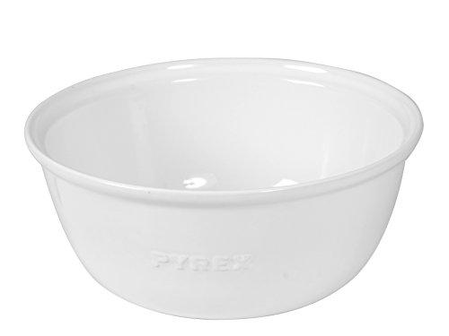 Pyrex Impressions Coppa Multiuso, Ceramica, 2 Litri, Bianco, Diametro 24 cm
