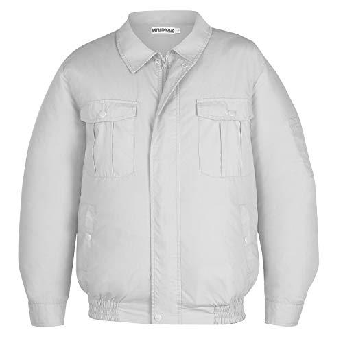 WILDYAK 空調服 作業服 熱中症対策服 紫外線防止 現場工事 作業着ジャケット 服のみ