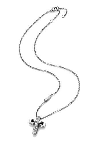 Breil Collana acciaio modello CHARMING CROSS per donna