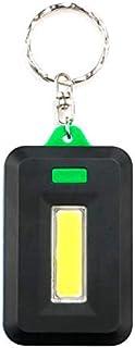 Keychain Flashlight Mini COB LED3 Modes Key Chain Portable Keyring Light Key Chain Lamp Torch Pocket Emergency Light Use