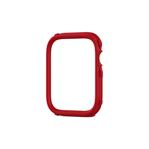 RhinoShield CrashGuard NX Extra Rim [ONLY] Compatible with Apple Watch SE [40mm] & Series 6 / 5 / 4 [40mm] & Series 3 / 2 / 1 [38mm]   Additional Accessory for RhinoShield Apple Watch Case - Red