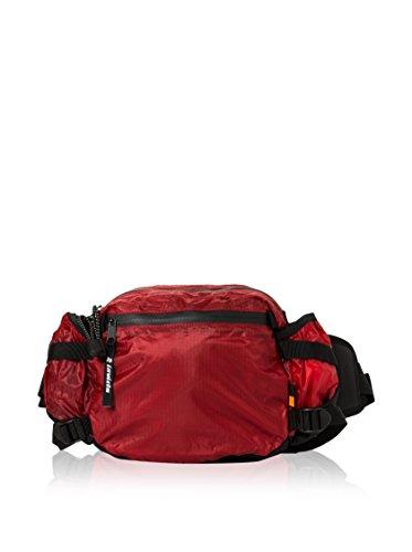 Marsupio Invicta, Outdoor Big Waist Bag, Rosso, Sport & Tempo Libero