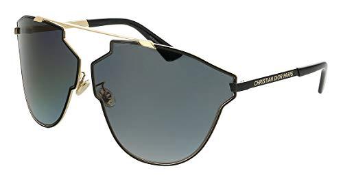 Dior Gafas de Sol SO Real Fast Gold Black/Grey Shaded Mujer