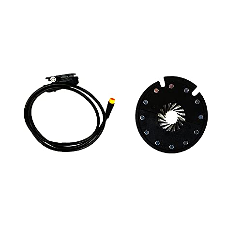 Sensor de Asistencia de Pedal Ebike, Sensor Pas KT-D12L, fácil de Instalar,...