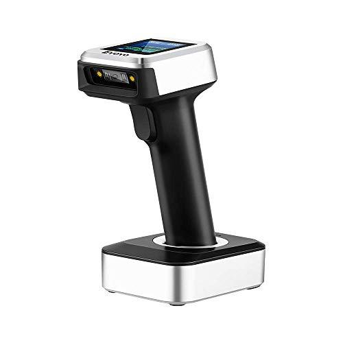 Eyoyo バーコードスキャナー 1D CCD USB有線/Bluetooth / 2.4Gワイヤレス接続1Dワイヤレスバーコードリーダー TFTカラーLCDスクリーン iPad、iPhone、Android、タブレットPCなど用