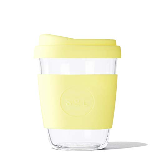 SOL CUPS 12OZ Cup - Yummy Yellow