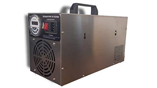 I-On Sanificatori Generatore di Ozono fino a 300m², Ozonizzatore Industriale, Sanificatore Ad Ozono con Timer Digitale per Ambienti,Case,Hotel,Capannoni,Auto,Palestre,Grandi Cucine. (5.000 mg/hr)