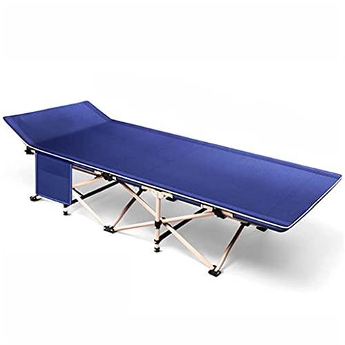 H-BEI Lounge Chair Klappbares Campingbett, tragbares Hochleistungs-Klappbett für Camping Beach Barbecue Wanderrucksack Office 450 Lbs Max Load