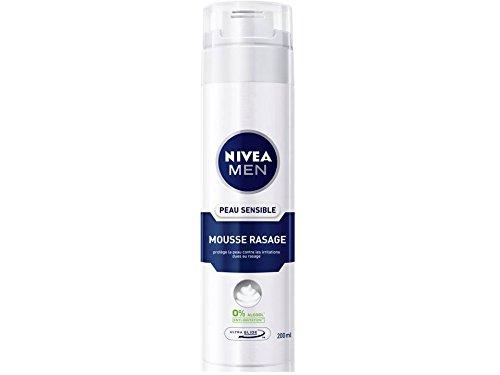 Nivea Men - Mousse à Raser Peau Sensible - 200 ml