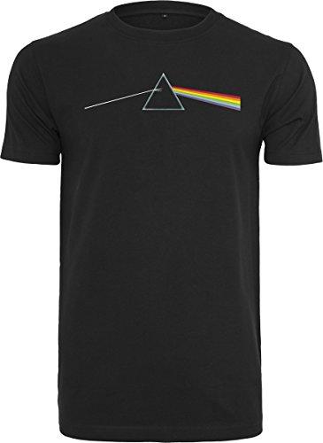 MERCHCODE Pink Floyd Dark Side of The Moon Tee T-Shirt pour garçon Noir XXXL