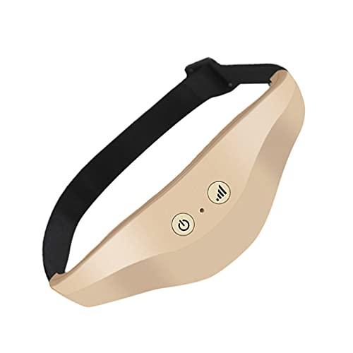 Healifty 1 Set di Occhio di Sonno di Punti di Agopuntura Massager di Vibrazione Elettrico Dispositivo di Massaggio Occhio di Sonno Intelligente Strumento Aiuto di Sonno per Alleviare