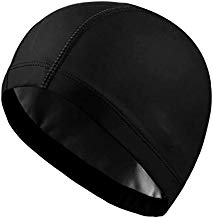 VELLORA PU Swimming Cap for Woman/Girls and Men/Boys PU Surfing and Swimming Caps