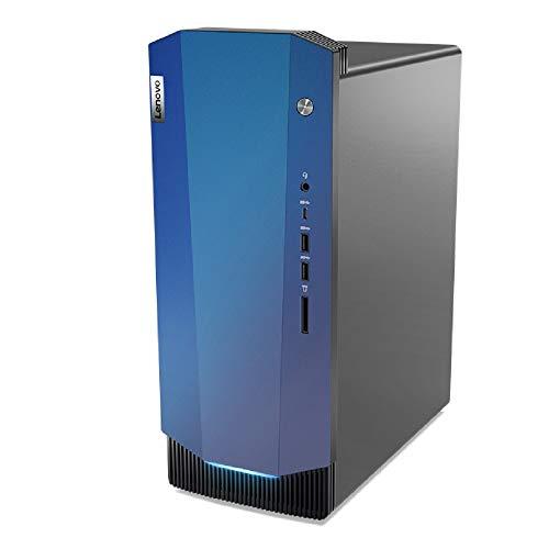 Lenovo IdeaCentre Gaming 5i Desktop PC (Intel Core i5-10400F, 512GB SSD, 16GB RAM, NVIDIA GeForce GTX 1650 SUPER, Windows 10 Home) schwarz
