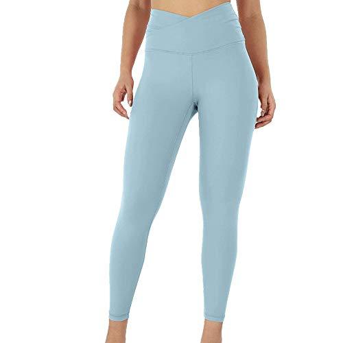 N\P Leggings de entrenamiento casuales cómodos y suaves para mujer, fitness, deportes, correr, yoga, atletismo