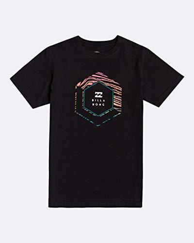 BILLABONG - Access Camiseta para Niño, Negro