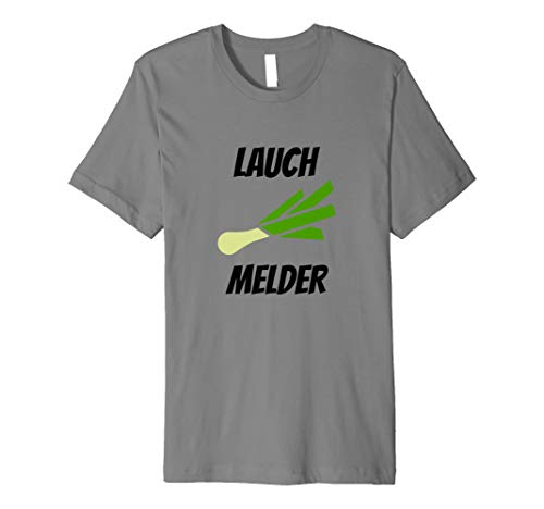 Lauch Melder | Lustiges Fun Fitness Sport T-Shirt