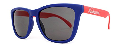 Sonnenbrillen Knockaround Classic Premium Blue and Red