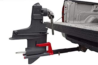 Hitch Mounted Outdrive Service Stand Plus Hitch Extension for Mobile Marine Repairs