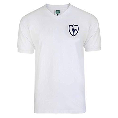 THFC Tottenham Hotspur (Spurs) 1962 Retro Shirt van Scoredraw (100% katoen & maten S tot 2XL)