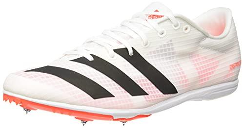 adidas Distancestar, Zapatillas de Atletismo Hombre, FTWBLA/NEGBÁS/Rojsol, 44 2/3 EU