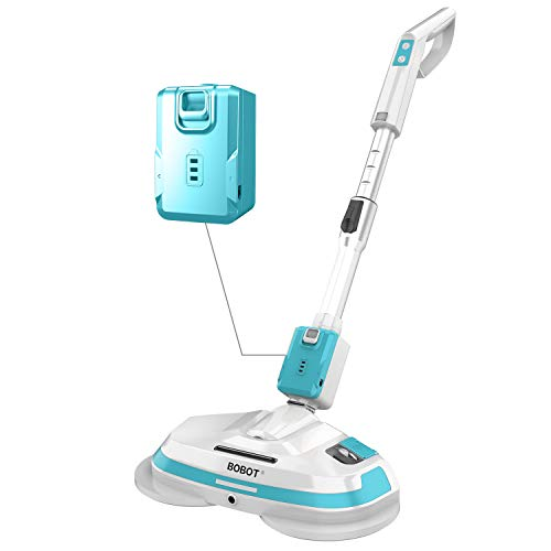 BOBOT Electric Mop, Hardwood Floor Cleaner Machine, Cordless, Spray, Rechargeable, 8600S