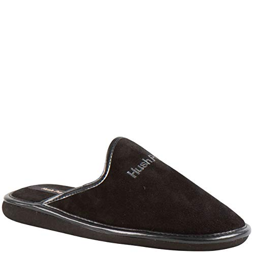 Hush Puppies Unisex Homeslippers Suede Black
