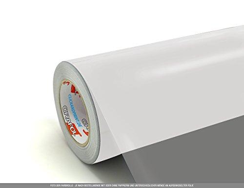 CLICKANDPRINT 2m Klebefolie, 50cm breit, Transparent PR » PVC-Folie/Vinyl-Folie/Kunststoffolie