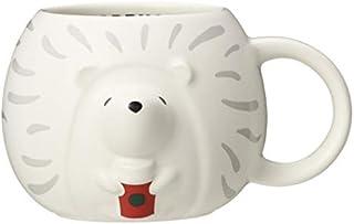 スターバックス ホリデー 2019 Starbucks マグ ヘッジホッグ 355ml ハリネズミ モチーフ ホワイト マグカップ スタバ 限定 クリスマス かわいい デザイン グッズ