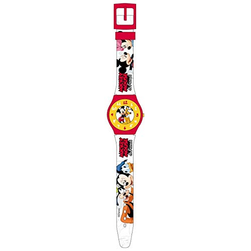 Reloj de pulsera para niño de Disney Mickey Mouse