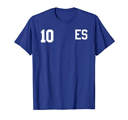 Retro El Salvador Soccer Jersey Camiseta de Futbol 10